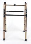 """Ходунки инвалидные """"шагающие"""", регулировка высоты 82—94 см (бронзовые)"""